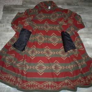 Woolrich Shirts - Woolrich Mens Robe Bathrobe Aztec Southwest Xlarge